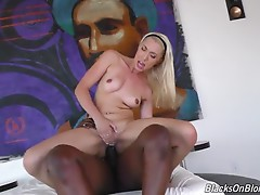 Jessica Jones is a VLOG`er. If you don`t know what that means, welcome to the 21st Century! Jessica creates `video blogs` for her fans. They love her `channel`, mainly because Jessica is a hot blonde with nice tits and a beautiful ass, and she loves to sh
