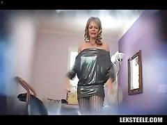 Pretty white milf Kelli Leigh is a true black cock slut.