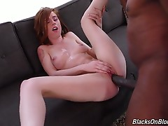 Pepper Hart is a size queen. This is a fact. She`s a true redhead, too! (The carpet matches the drapes!) Pepper is a MILF, too, even though she looks much younger than her actual age. She`s also a huge fan of porn, and she loves watching big black dicks p