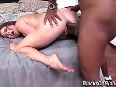 Slutty Krissy Lynn greatly enjoys deep anal pounding.