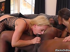 Sometimes, there isn`t a storyline. Or a plot. Or dialogue. When you have three of the best performers in the game, all you need is a hard slap across the tit, another firm slap across the face, and some hot, girl-on-girl action, in order to get the scene