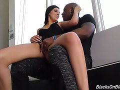 This is something she`s been masturbating about for years. Whenever she`s laying in bed, alone, horny and wet for action, Miranda`s mind wanders to a place where big, black Bulls with extra-big dicks roam, stretching little tight, white pussies until they